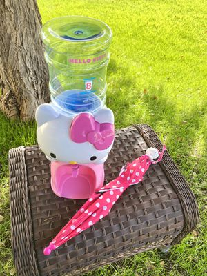 Hello Kitty Water Dispenser & Umbrella (Pending Pickup) for Sale in Phoenix, AZ