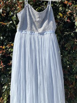 Needle & Thread Light Blue Tulle Beaded Dress L for Sale in National City,  CA