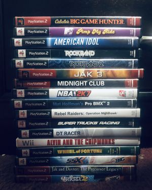PS2/Nintendo Wii Games for Sale in Fort Myers, FL