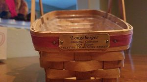 Longaberger (Christmas Collection) Basket for Sale in Murrieta, CA