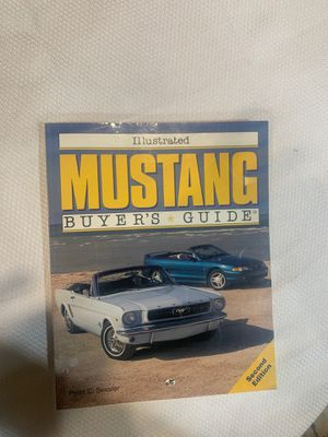 Mustang Buyers Guide second edition for Sale in Moreno Valley, CA
