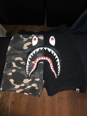 Bape city camo shark shorts for Sale in La Mesa, CA