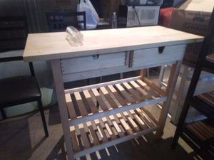 Kitchen Cutting Table and Cabinet for Sale in San Francisco, CA