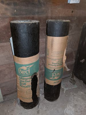 FREE Mineral surfaced roll roofing rolls for Sale in Brookline, MA