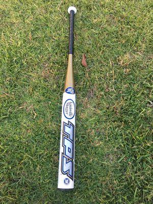 Louisville slugger TPS voltage Slow pitch softball baseball bat 34 inch 26 oz for Sale in Fullerton, CA