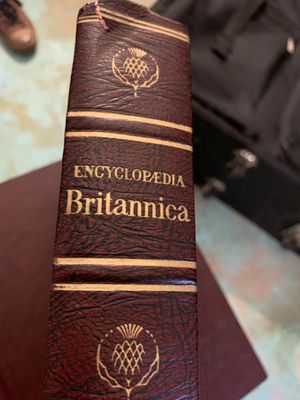 FREE - Encyclopedia Britannica Set for Sale in Plainfield, IL