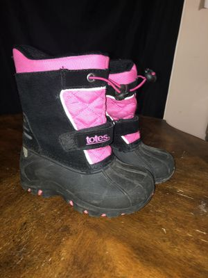Totes (little girls boots) for Sale in Pflugerville, TX