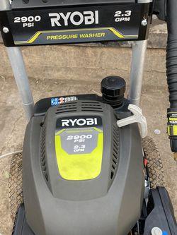 RYOBI 2,900 PSI 2.3-GPM Gas Pressure Washer for Sale in Gardena,  CA