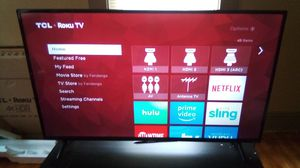 """50"""" 4K TCL Roku Smart TV for Sale in Worcester, MA"""