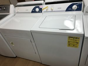 Hotpoint white washer and dryer set for Sale in Woodbridge, VA