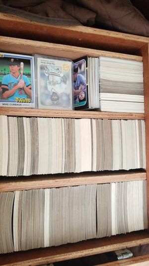 sports cards topps fleer donruss 81 to 88 for Sale in Neffsville, PA