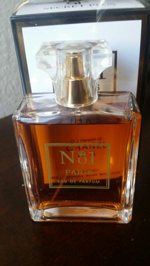 Perfume chance by chanel n5 3.4oz for Sale in Austin, TX