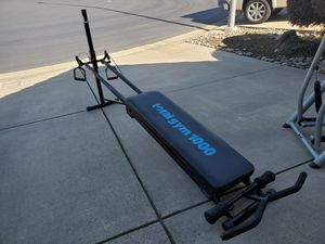 Gym equipment like New!! for Sale in Modesto, CA