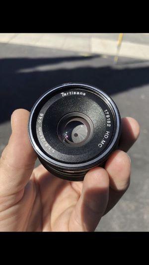 7Artisans 25mm f1.8 manual lens/ FujiFilm X mount for Sale in Palo Alto, CA