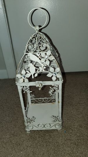 Vintage Candle Holder with birds and flowers for Sale in Alafaya, FL