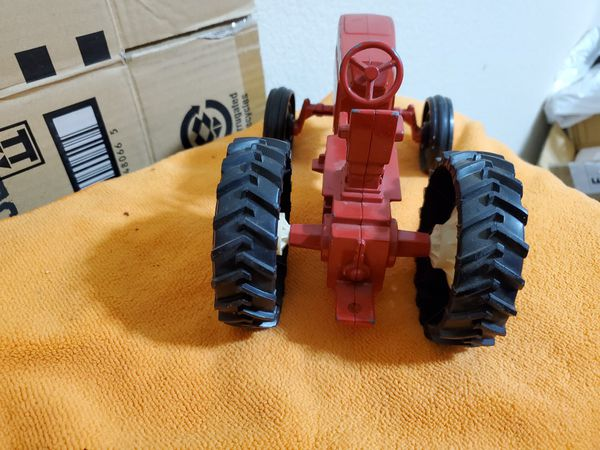 Red Ertl Farm Tractor