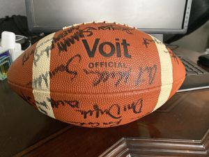 Vintage Voit Seattle Seahawk Team Signed Football for Sale in Mesa, AZ