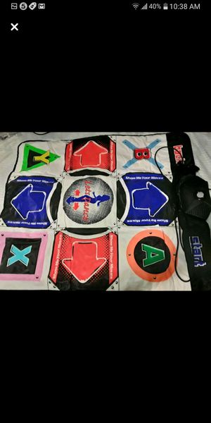 PS2, XBOX, AND GAME CUBE REVELUTION DANCE PAD for Sale in Garland, TX