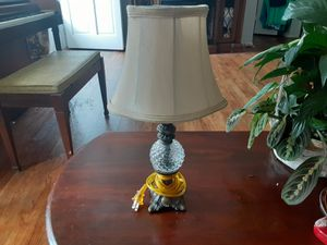 Nice Looking LAMP With BRASS and Crystal Ball for Sale in Arnold, MO
