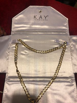 Cuban link necklace for Sale in Morrow, GA