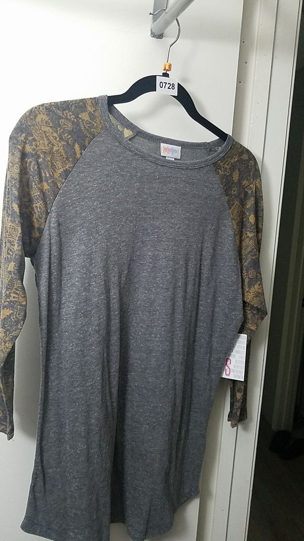 Lularoe Randy baseball tee small new with tags