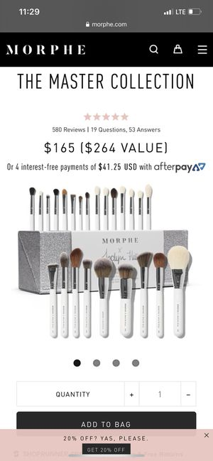 Jaclyn Hill Brushes | Morphe for Sale in Chino, CA