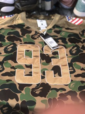 Brand new Green Bape x Adidas Sb Jersey size large for Sale in Kensington, MD