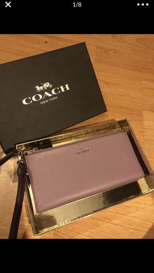 Authentic coach wallet/purse for Sale in Ontario, CA