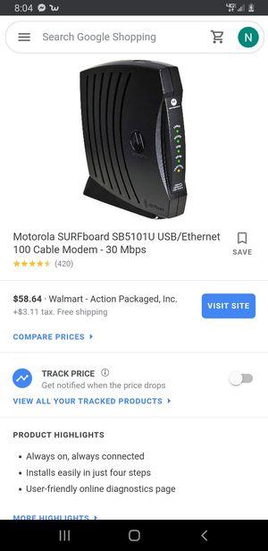 Motorola Modem for Sale in Waynesboro, VA