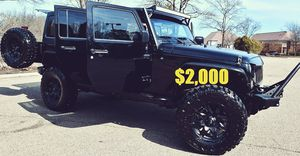 🍁$2,OOO🎁Selling my 2O1O Jeep Wrangler 4X4 for Sale in Washington, DC