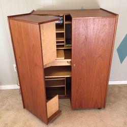 Mummenthaler & Meier Midcentury Hidden Desk for Sale in Brighton, CO