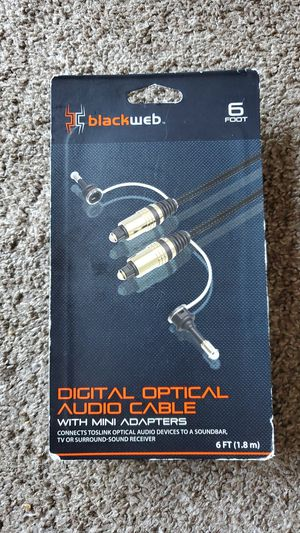 Digital optical audio cable for Sale in San Diego, CA