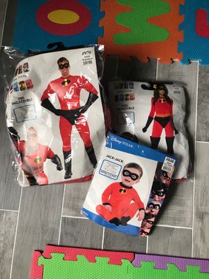 The Incredibles Family Halloween Costumes for Sale in St. Cloud, FL