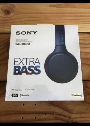 Wireless Sony wh-xb700 headphone brand new! Blue for Sale in Scottsdale, AZ