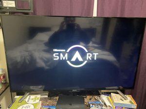 55 inch hisense tv for Sale in Tacoma, WA