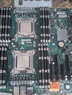 MSI dual Intel xeon server 2x E5-2670 (16cores), 128gb ECC DDR3, 10gb Ethernet, RAID for Sale in Las Vegas,  NV