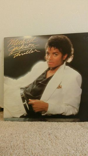 """Michael Jackson """"THRILLER"""" Record Album Collector GC OBO for Sale in Delaware, OH"""