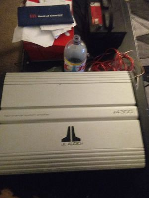 Jl audio amp 4 channels e 4300 for Sale in Lompoc, CA