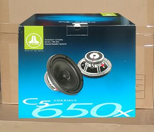 """Evolution C5 Series JL Audio Car Speaker Set 2-Way System 225watts 6 1/2"""" Inch Pair Set 🚨 90 Day Payment Option Available for Sale in Santa Monica, CA"""