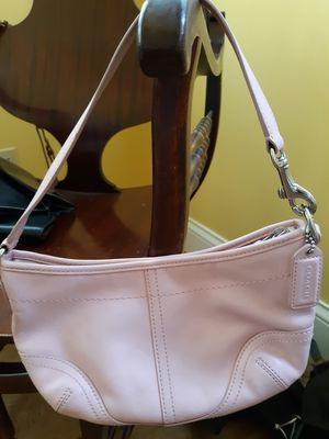 Authentic Pink Leather Coach Bag for Sale in Columbus, OH