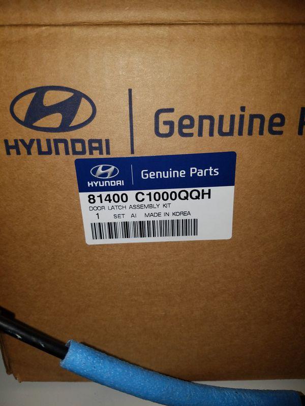 Hyundai OEM Door Latch 4 Door Kit - Part # 81400 C1000 Fits 2015 - 17 Sonata
