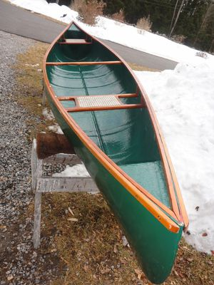 New 14ft fiberglass canoe. Never used still in box. for Sale in Snowmass, CO