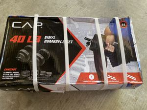 40lb Dumbbell set NEW for Sale in Visalia, CA