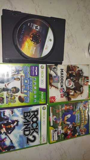 Xbox 360 games for Sale in San Jose, CA
