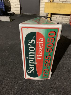 Sarpino's pizzeria roof sign for Sale in Chicago, IL