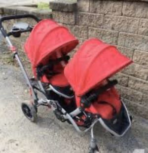 Double stroller color red for Sale in San Diego, CA