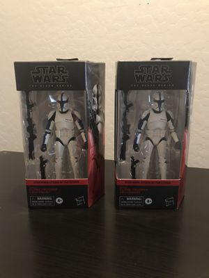 "Star Wars The Black Series 6"" Clone Trooper Lieutenant Action Figure for Sale in Gilbert, AZ"