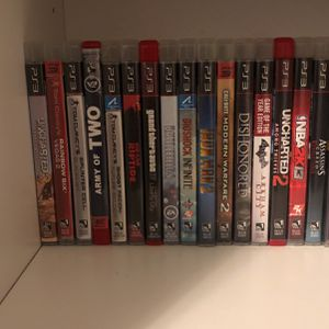 PS3, Xbox one, 3DS , And PS4 Games For Salw for Sale in Orlando, FL