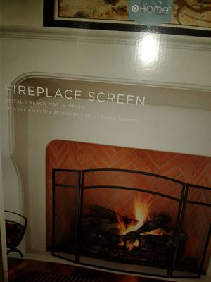 Home fireplace screen fence for Sale in Waltham, MA
