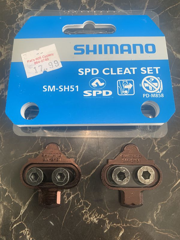 SHIMANO SM-SH51 SPD CLEATS